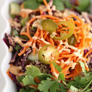 Banh Mi Quinoa Salad