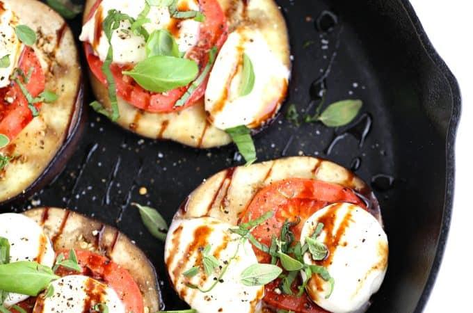Eggplant Caprese www.createdbydiane.com