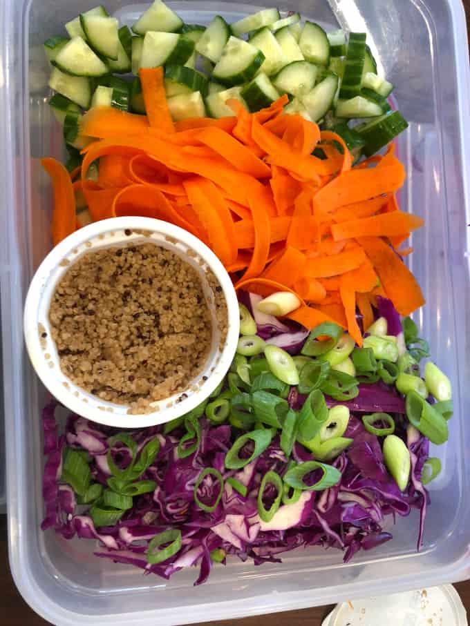 banh mi salad with quinoa www.createdbydiane.com