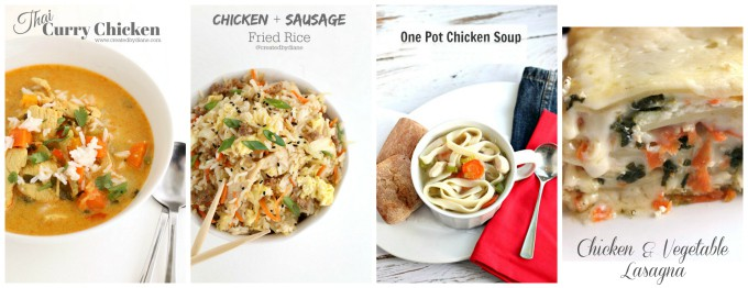 rotisserie chicken recipes makes dinner planning easy fast and delicious www.createdbydiane.com