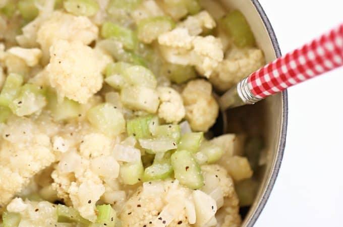 cauliflower stuffing www.createdbydiane.com