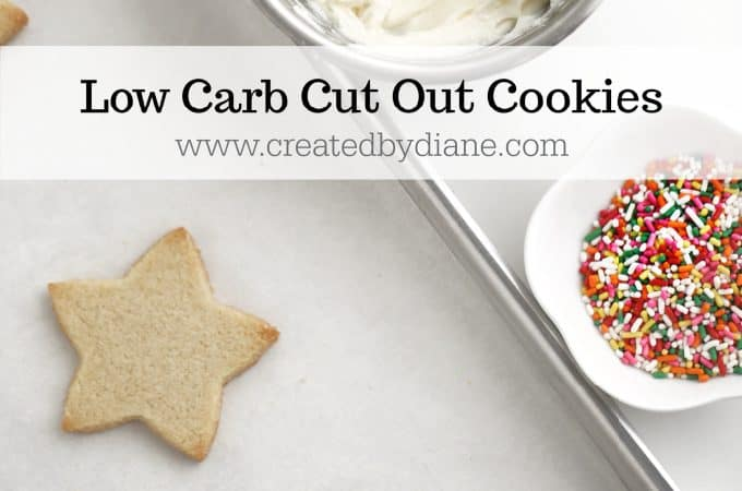 low carb cut out cookie recipe no flour, no sugar, decorated cookies for holidays, birthdays, diabetics, #keto #lowcarb #cookie #christmas #sugarcookie #nosugar