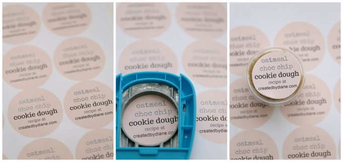 oatmeal choc chip cookie dough createdbydiane.com