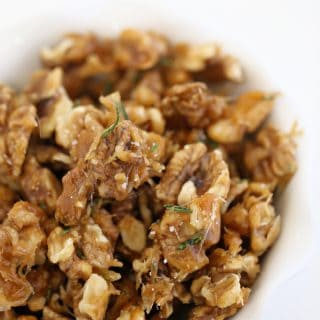 rosemary candied walnuts createdbydiane.com