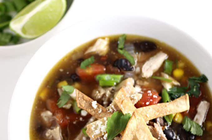 chicken tortilla soup recipe createdbydiane.com