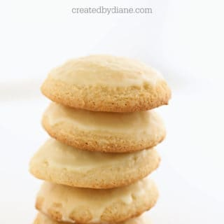 glazed lemon cake cookies createdbydiane.com