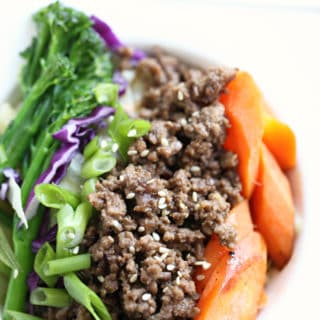 korean beef recipe with ground beef from www.createdbydiane.com
