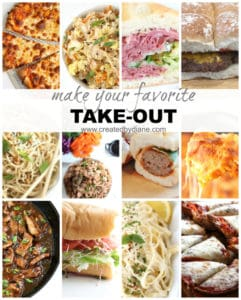 take out recipes that you can easily make at home www.createdbydiane.com