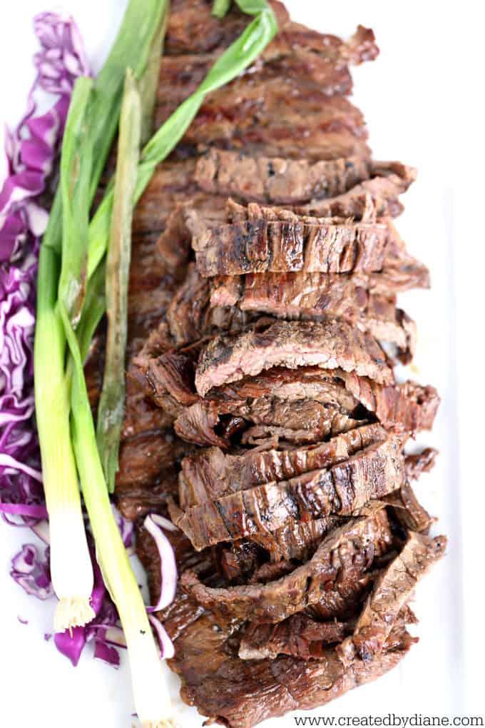 grilling steak www.createdbydiane.com