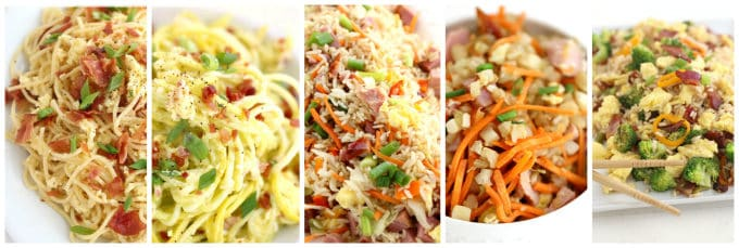 egg recipes both with carbs and low carb recipes www.createdbydiane.com