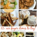 over 12 air fryer items to try from www.createdbydiane.com