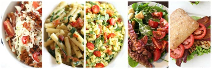 BLT recipes www.createdbydiane.com