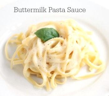 Buttermilk Pasta Sauce www.createdbydiane.com