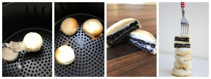 fried oreo in the air fryer www.createdbydiane.com