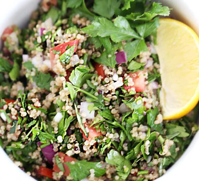Quinoa Tabbouleh recipe www.createdbydiane.com