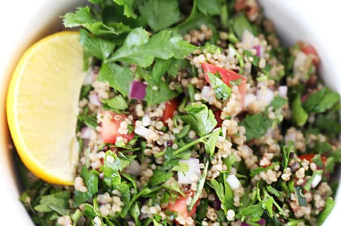 quinoa taboullah (tabouli) www.createdbydiane.com