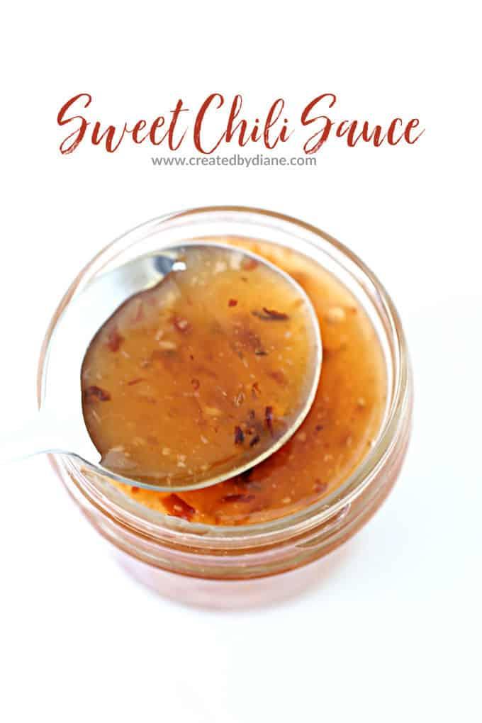 sweet chili sauce recipe www.createdbydiane.com