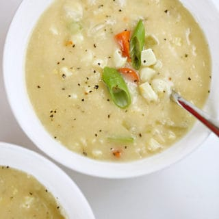 easy corn soup recipes www.createdbydiane.com #corn #summercorn #soup