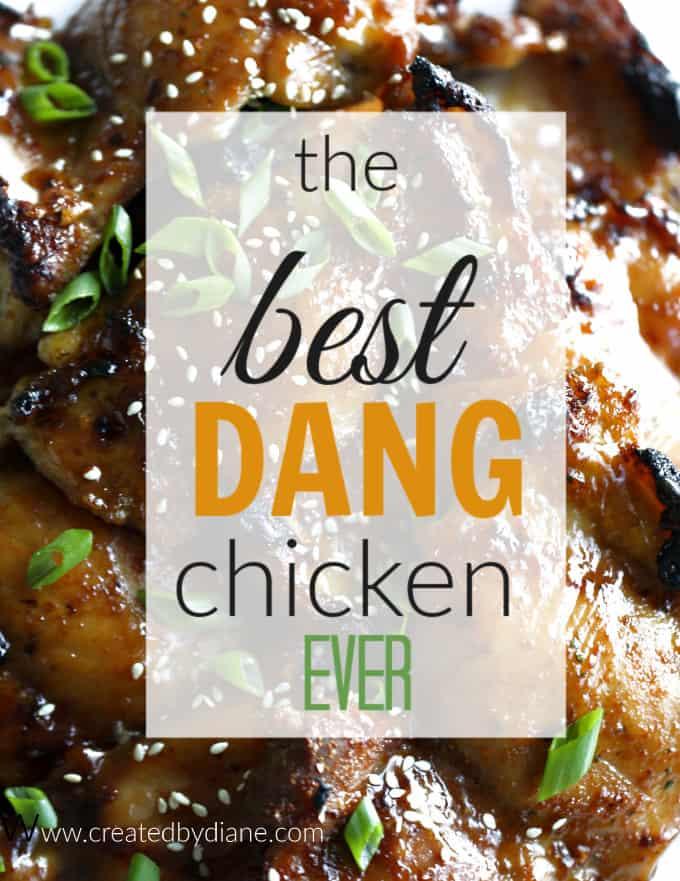 the best dang chicken ever brown sugar soy chicken createdbydiane.com