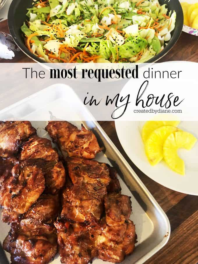 the most requested dinner in my house brown sugar soy chicken thigh createdbydiane.com