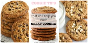 cookie tips that will help you bake great cookies www.createdbydiane.com