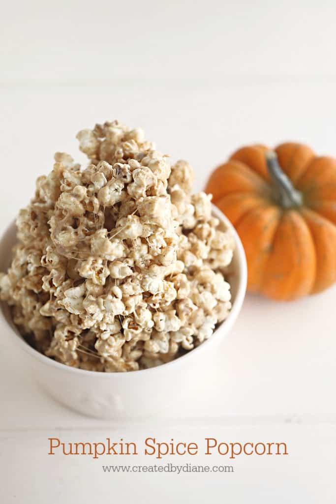 Pumpmin Spicy Popcorn www.createdbydiane.com