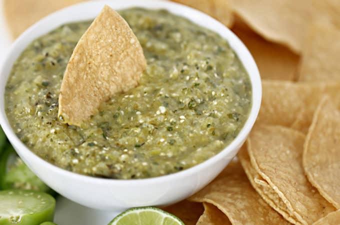 Salsa Verde Recipe www.createdbydiane.com