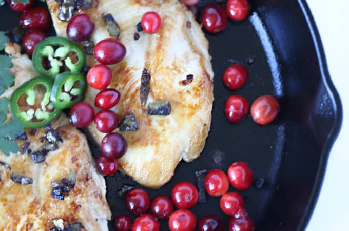 Jalapeno Cranberry Chicken Recipe from www.createdbydiane,com