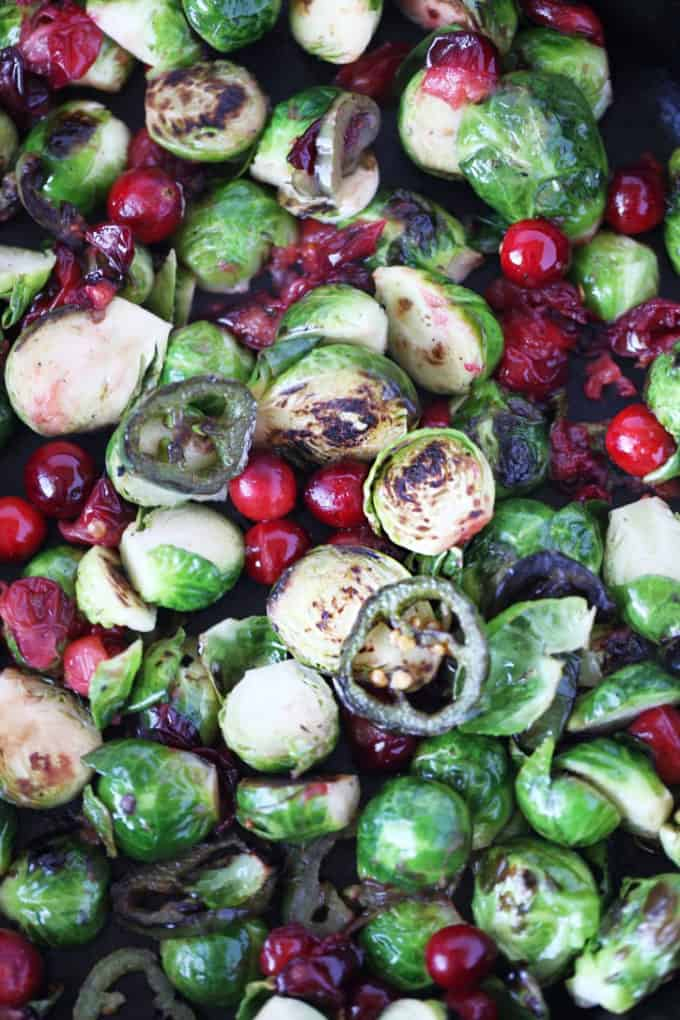 brussels and cranberries