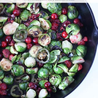 cranberry brussels sprouts www.createdbydiane.com
