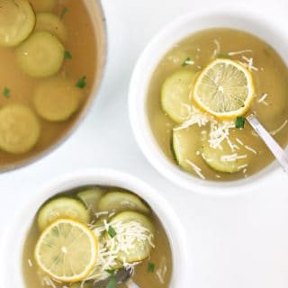 lemon zucchini soup recipe from www.createdbydiane.com-2