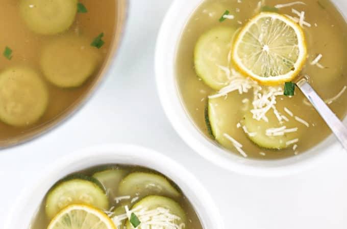 lemon zucchini soup recipe from www.createdbydiane.com-2