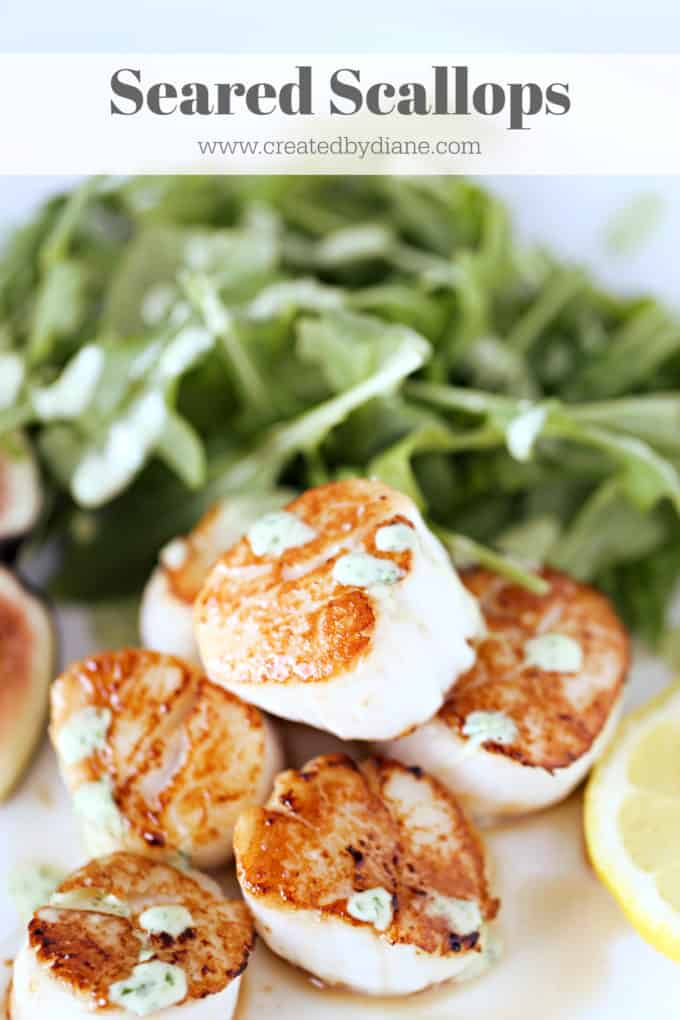 seared scallops www.createdbydiane.com