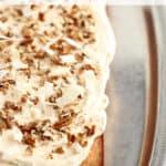 Simple Pumpkin Spice Sheet Cake www.createdbydiane.com