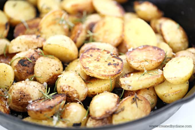 yukon gold skillet potatoes