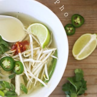 chicken pho soup recipe ready in 30 minutes @createdbydiane.com