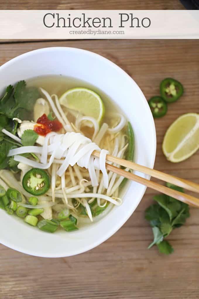 easy vietnamese chicken pho soup recipe