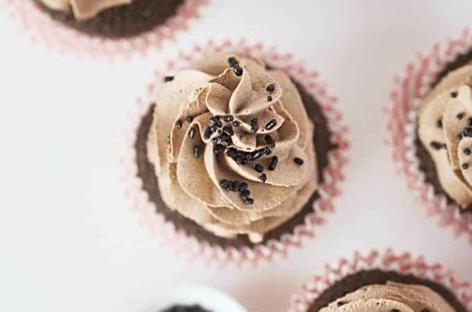 chocolate whipped cream frosting www.createdbydiane.com