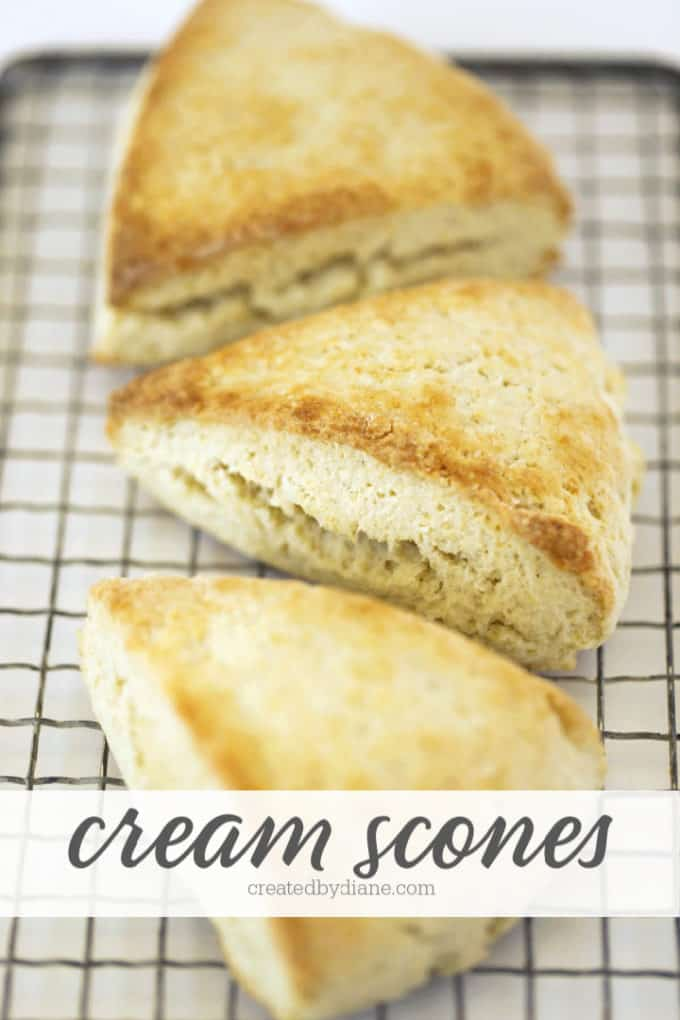cream scones from createdbydiane.com