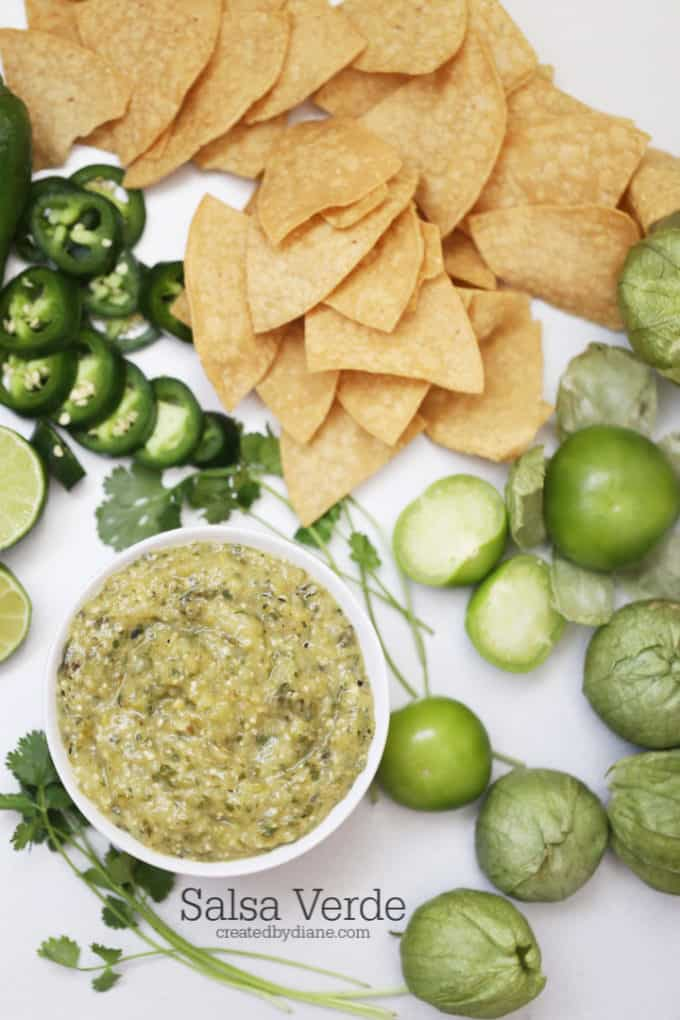 how to make salsa verde createdbydiane.com