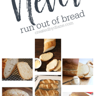 Never run out of bread, make your own 3homemade is best createdbydiane.com