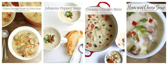 creamy soup recipes createdbydiane.com