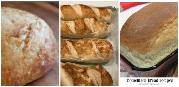 homemade bread recipes createdbydiane.com