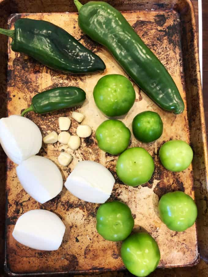 ingredients for chili verde