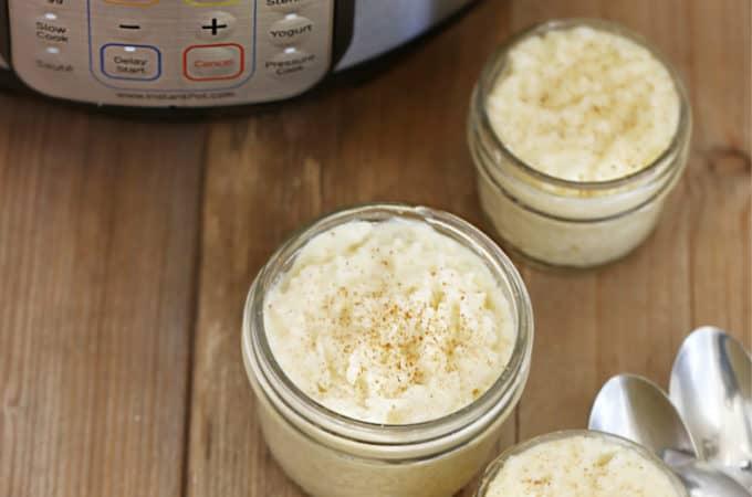 instant pot rice pudding recipe createdbydiane.com