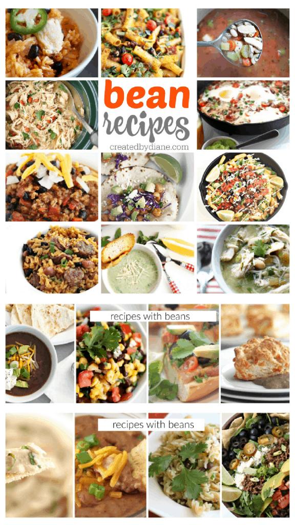 bean recipes from creartedbydiane.com Taco Tuesday, Cinco de Mayo