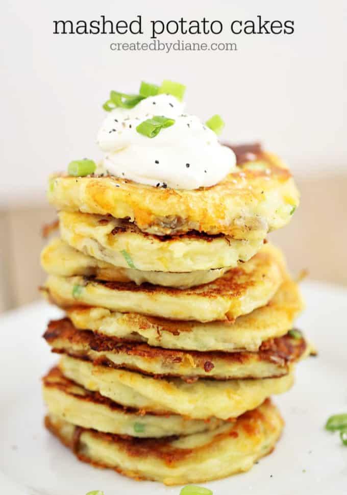 Mashed Potato Cakes createdbydiane.com