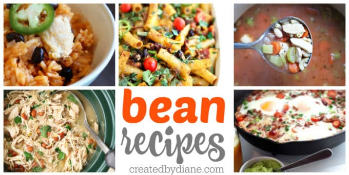 great bean recipes createdbydiane.com