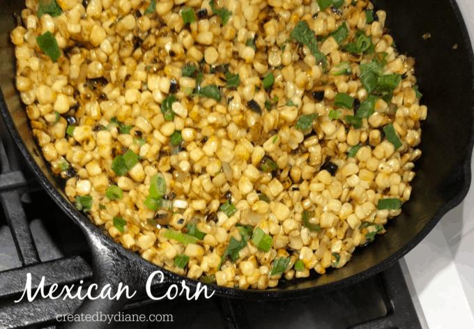 mexican corn recipe createdbydiane.com