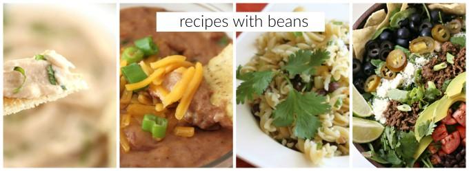 more recipes with beans createdbydiane.com